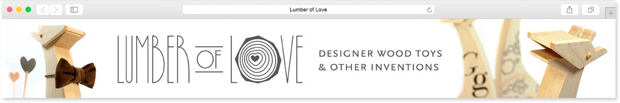 Lumber of Love Etsy Banner