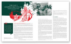 A Good Way Magazine Editorial Design