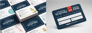 Lunenburg Seaport Business cards