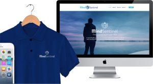 MindSentinel Website Concept