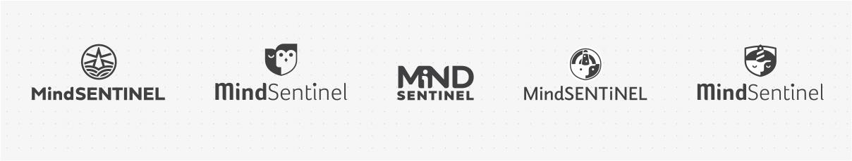MindSentinel Logo Concepts