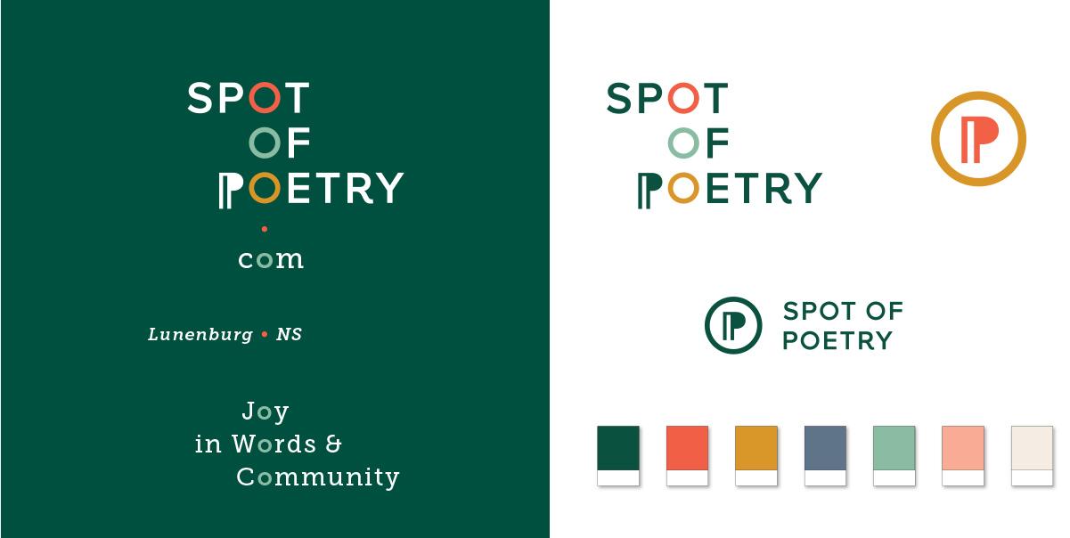 Spot of Poetry Logo design